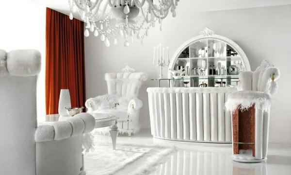 wohnzimmer in wei 33 geniale ideen. Black Bedroom Furniture Sets. Home Design Ideas