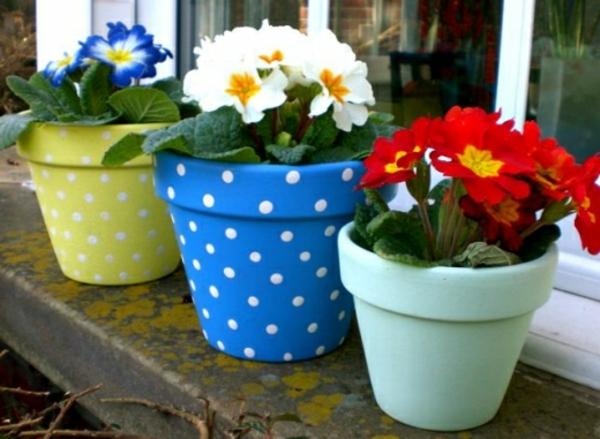 wunderbar--dekorierte-Blumentöpfe-Idee-Dekoration