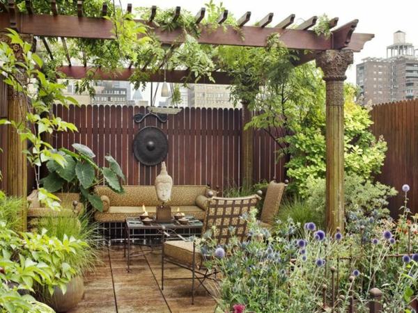 wunderbare-.Gartenterrassen-Pflanzen-Design-Idee