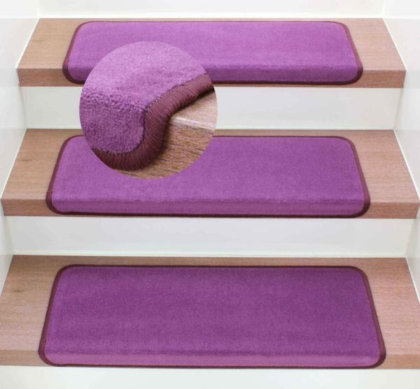 wunderbare-Teppich-Stufenmatte-in-Lila-Design