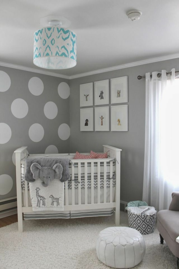 babyzimmer deko wandgestaltung. Black Bedroom Furniture Sets. Home Design Ideas