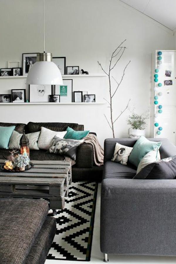 wunderbarer-Teppich-Weiß-und-Schwarz