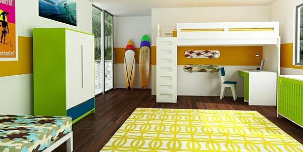wunderbarer-Teppich-in-gelber-Farbe-im-Kinderzimmer
