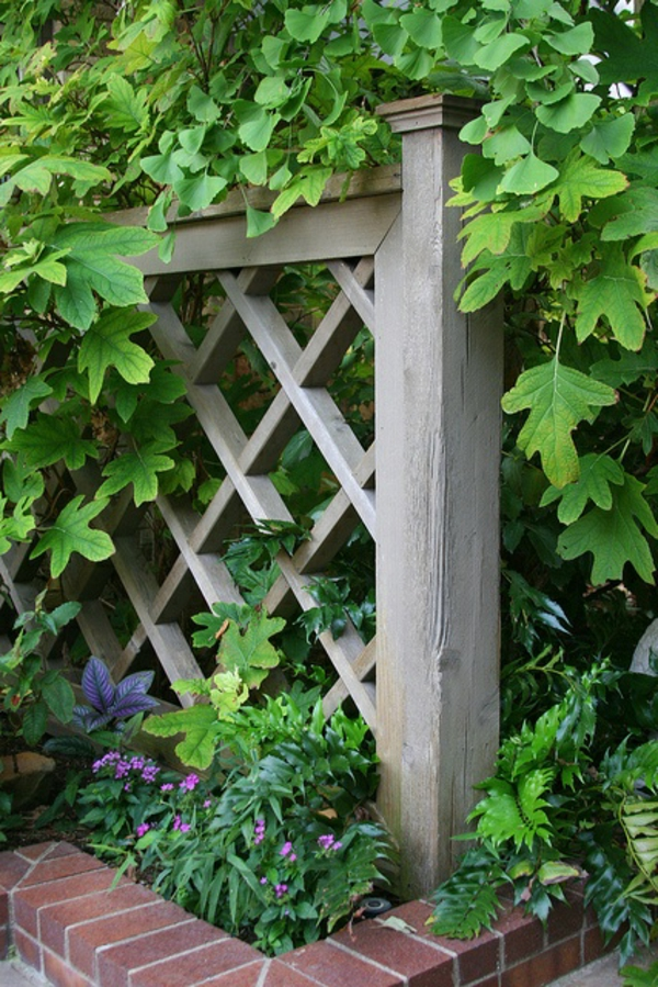 gartenzaun aus holz - tolle ideen - archzine, Garten und erstellen