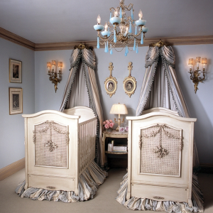 Baldachin - Bett im Babyzimmer - 27 geniale Ideen!