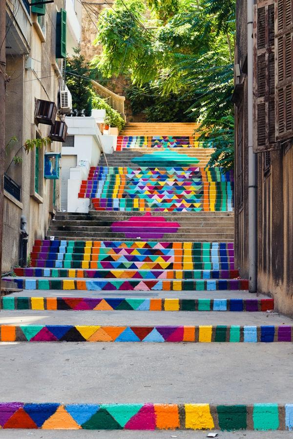 wunderschöne-Treppen-bemalt-Idee