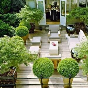 Terrassengarten - wunderschöne Gestaltungsideen!