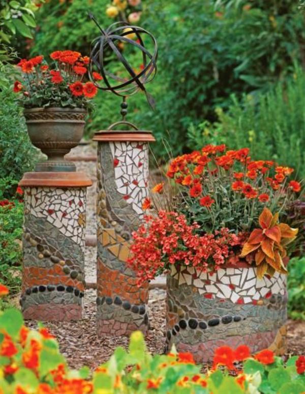 wunderschönes-Design-Töpfe-mit-Mozaik-bedeckt-Ideen