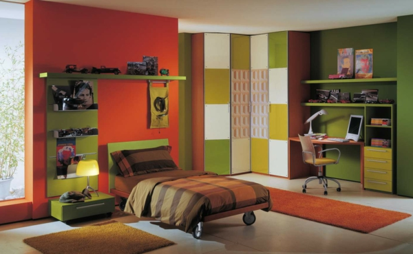 wunderschönes-Kinderzimmer-Bücherregale-Design-Ideen