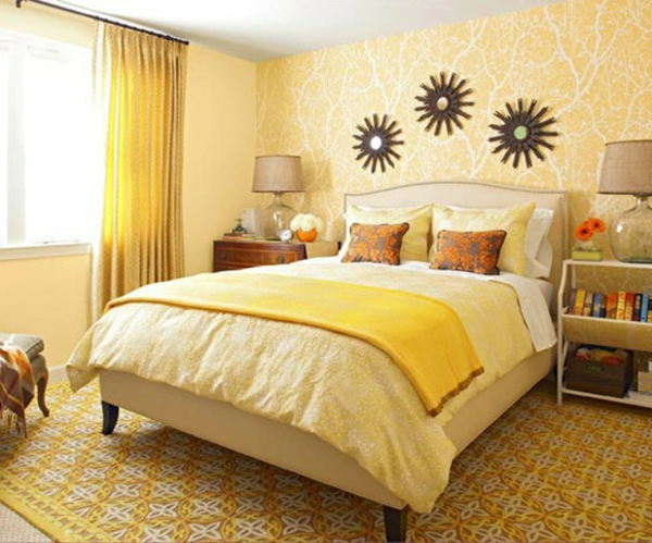 gelber-schöner-teppich-im-schlafzimmer