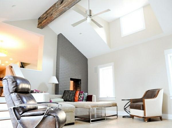 Zimmerdecken Ideen fürs Wohnzimmer - 53 prima Fotos!