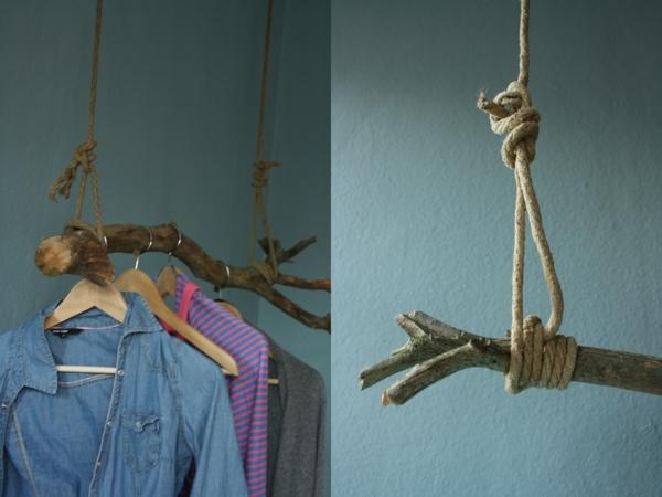 zwei-fotos-von-kleiderstange-für-wand