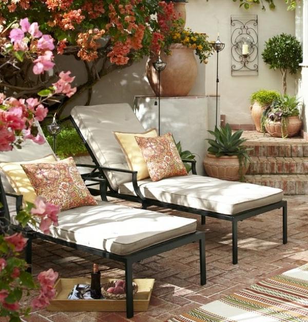 gartenmobel liege fur zwei home design und m bel interieur inspiration. Black Bedroom Furniture Sets. Home Design Ideas