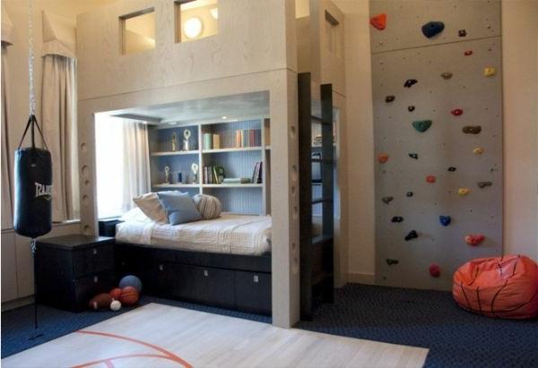 Kletterwand Im Kinderzimmer Freude Und Gesundheit Archzinenet