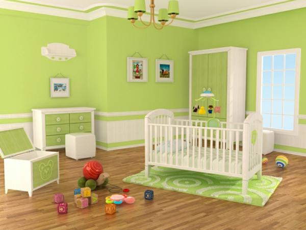 Kinderzimmer junge wandgestaltung grün blau  100 Ideen für Wandgestaltung in Grün! - Archzine.net