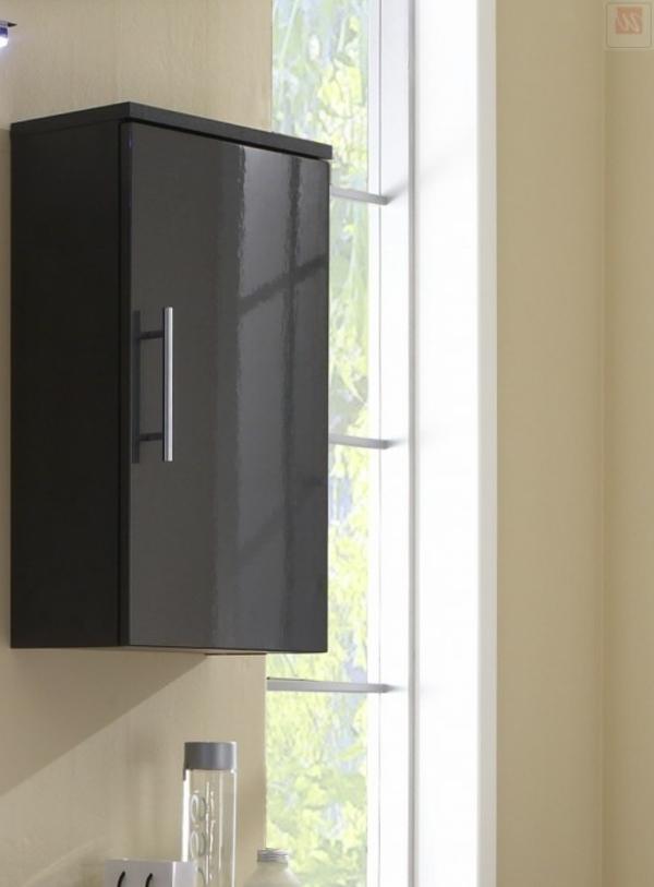 Badezimmer-Hängeschrank-in-eleganter-schwarzer-Farbe