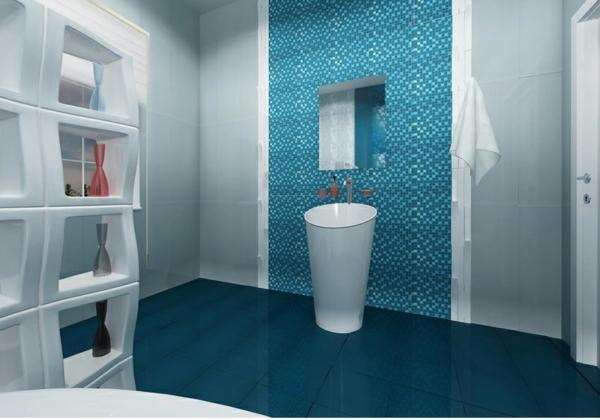 Moderne Fliesen Für Badezimmer: Badgestaltung kleines bad modern ...