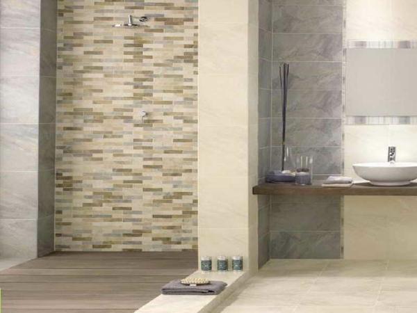 Kacheln Badezimmer Beige Braun - Design | {Modernes badezimmer beige 64}
