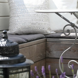 Balkon Eckbank - ein tolles Möbelstück!
