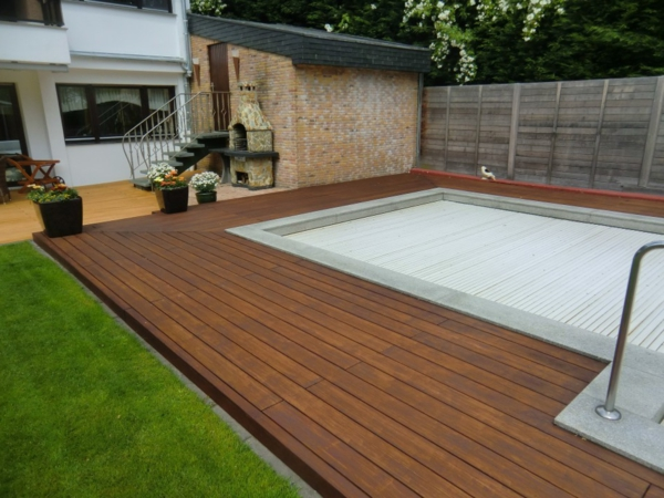 Bambus terrassendielen f r eine gem tliche atmosph re for Gartengestaltung um den pool