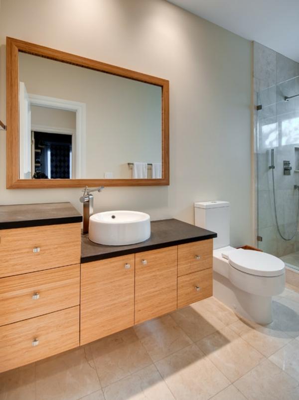 Bambus-Schränke-im-Badezimmer-Bambus-Waschbeckenunterschränke