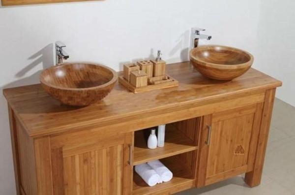 Badezimmer Unterschrank Bambus : Bambus-Unterschrank-Design-Idee ...