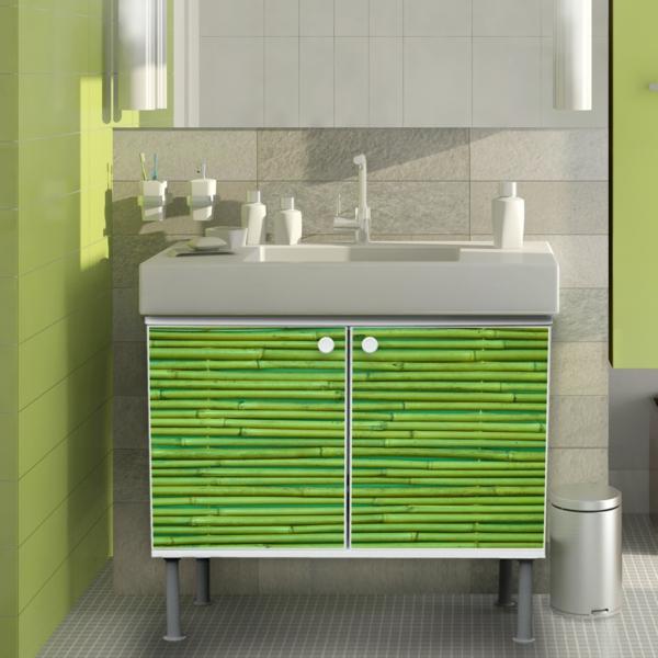 Bambus-Unterschrank-in-Grün-Idee