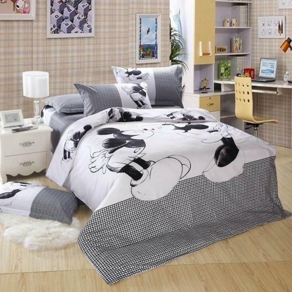 Bettwäsche-Mickey-Maus-Ideen-Mickey Mouse Bettwäsche