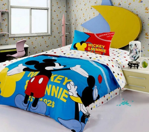 Bettwäsche-Mickey-Mouse-Disney-Idee-Mickey Mouse Bettwäsche