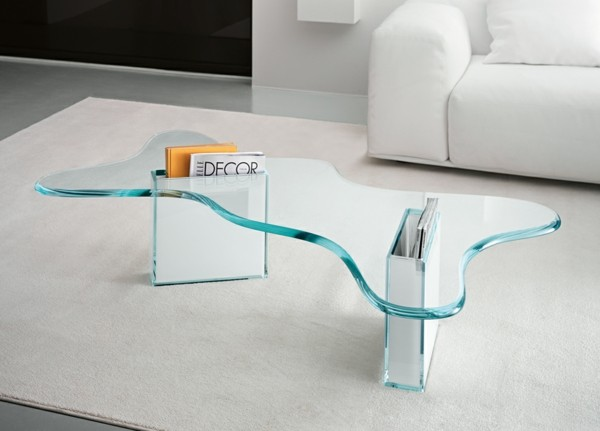 Effektvolle Couchtische aus Glas!