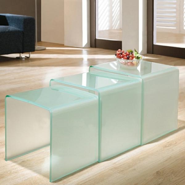 Kleine couchtische design latest couchtisch ideen genial for Designer glas couchtische