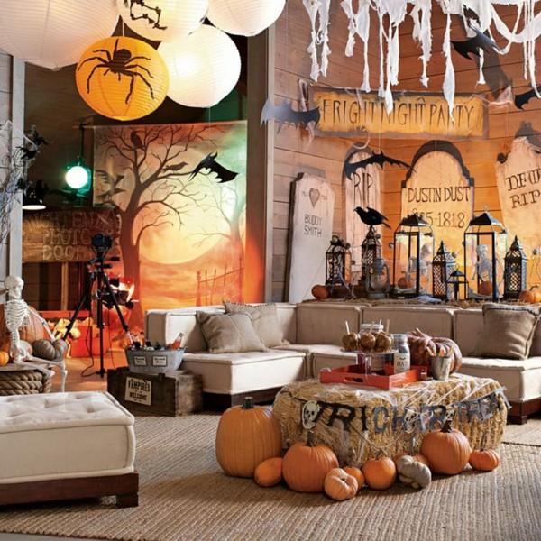 tolle halloween dekoration selber machen! - archzine, Garten und Bauten