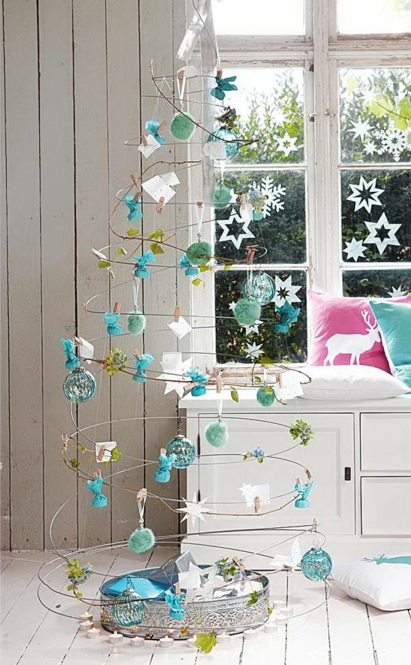 Dekoration-für-den- Weihnachtsbaum-Idee