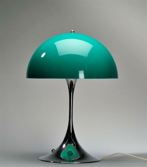 Designer-Tischleuchte-in-Grün-Idee