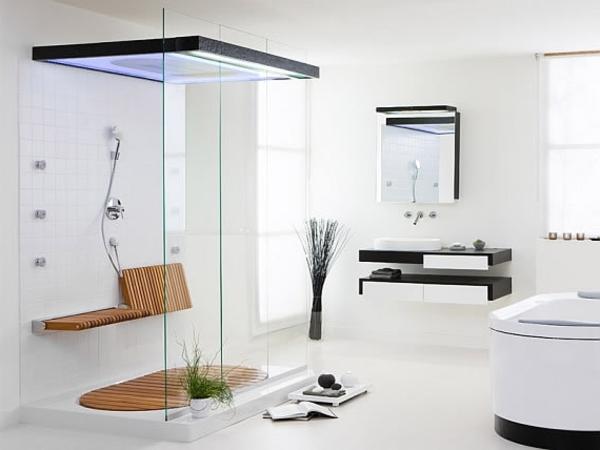Dusche-mit-Kabine-aus-Glas-im-Badezimmer-Design