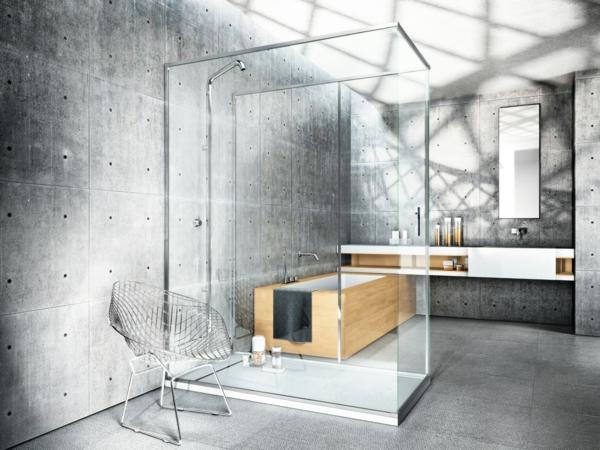 Dusche-mit-Kabine-aus-Glas-modernes-Design