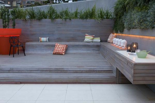Eckbank design  Balkon Eckbank - ein tolles Möbelstück! - Archzine.net