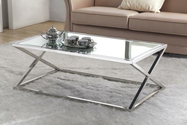 Edelstahl-Glas-Beistelltische-Wohnzimmer