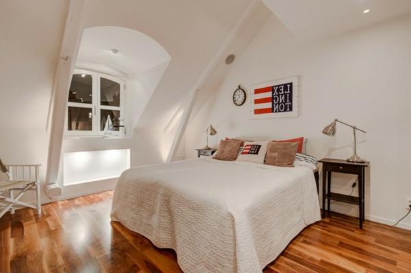 elegantes-schlafzimmer-im-Dachgeschoss