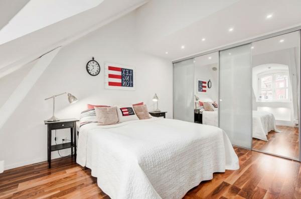 elegantes-Schlafzimmer-in-der-Dachwohnung
