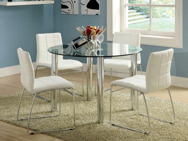 Esstisch aus glas schick und elegant for Design glas esstisch
