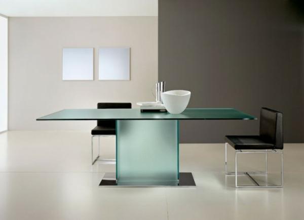 Esszimmer Mit Glastisch : elegantesEsszimmermiteinemGlastisch