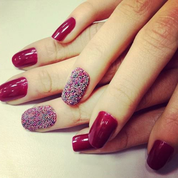 Fingernägel-Design-Ideen-in-Rot