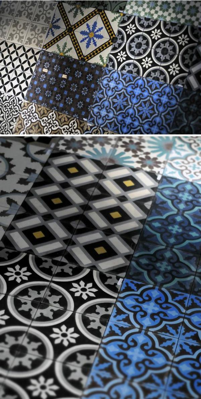 bunte-Fliesen-mit- Marokkanischem-Design
