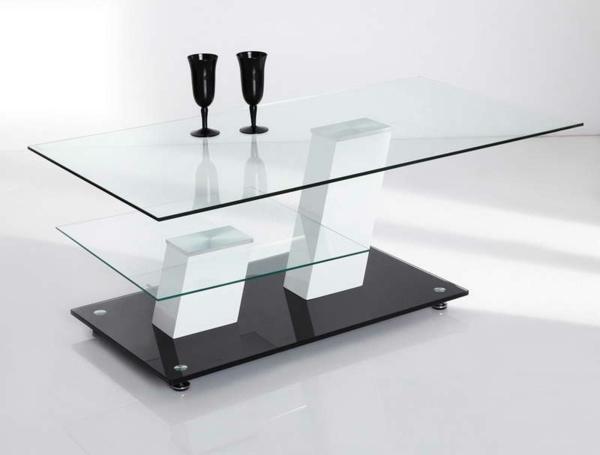 Glas-Beistelltische-schwarz-glas