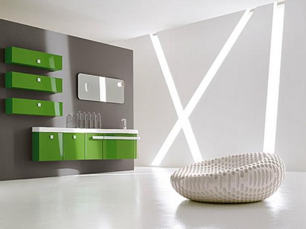 Hängeschrank-Badezimmer-Badezimmereinrichtung-in-Grün