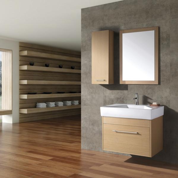 Hängeschrank-Badezimmer-Holzmöbel-Interior-Design-Idee-Hängeschrank-Badezimmer
