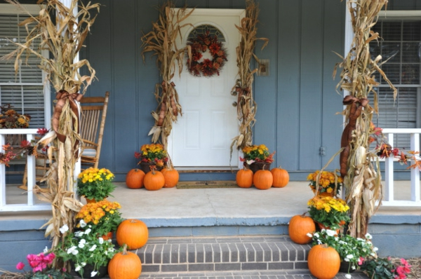 Halloween-Dekoration-selber-basteln-für-Draußen-Ideen