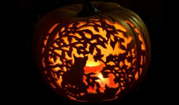 Halloween-Kürbis-Deko-Ideen