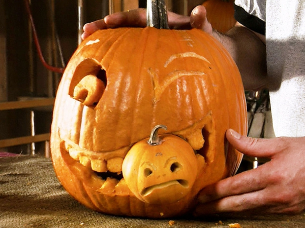 Halloween-Kürbis-basteln-tolle-Idee-für Halloween